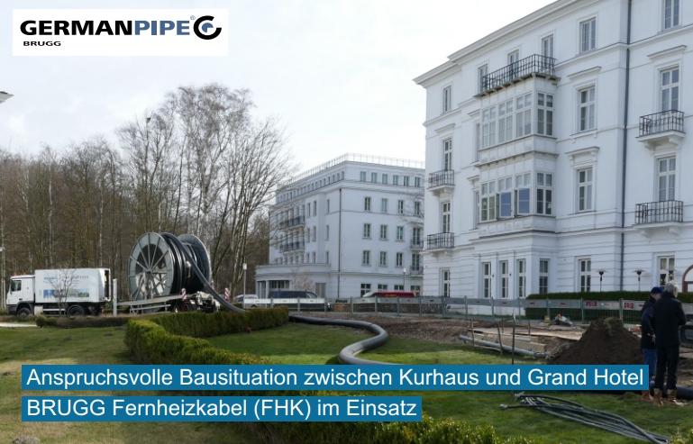 Fernwärme am Ostseestrand – Heiligendamm modernisiert und erweitert Versorgungsnetz
